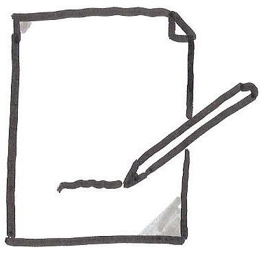 Herzrocker - Zettel und Stift